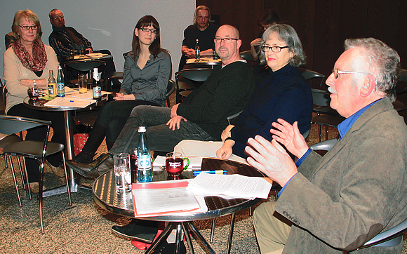 Bild v.l.n.r.: Ingrid Vandreé, Gudrun Fretwurst, Intendant Manuel Soubeyrand, Barbara Braun-Nickel und Bernd Daferner